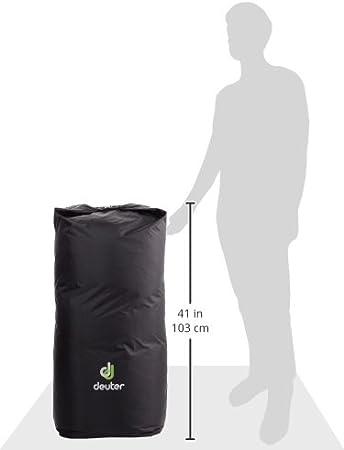Black 90 L Deuter Flight Pack Cover 118 cm