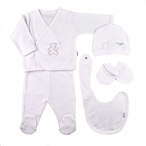 5f71c59cfc62a Sevira Kids Coffret Naissance en 100% Coton Bio - vêtements Bébé 5 pièces  Organic (