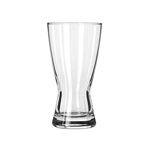 Libbey Glassware 181 Hourglass Pilsner, 12 oz. (Pack of 24) ()