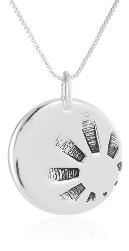 "Sterling Silver ""Nothing Is Worth More Than This Day - Carpe Diem"" Reversible Pendant Necklace , 18"""