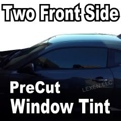 <br /> LEXEN Two Front Window Precut Tint Kit Computer Cut Tinting Glass Film Car