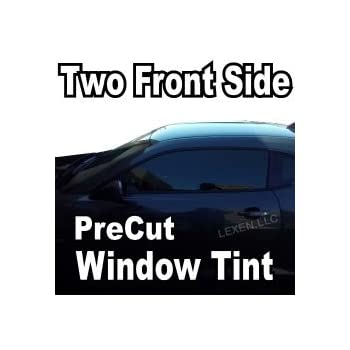 Amazon lexen two front window precut tint kit computer cut lexen two front window precut tint kit computer cut tinting glass film car any shade solutioingenieria Gallery