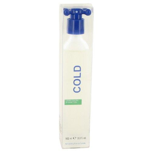 - COLD by Béñéttoñ for Men Eau De Toilette Spray 3.4 oz