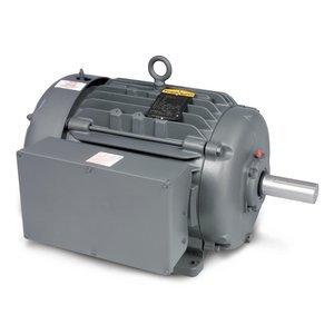 Baldor L1177T General Purpose AC Motor, Single Phase, 254T Frame, TEFC Enclosure, 15Hp Output, 1760rpm, 60Hz, 230V Voltage