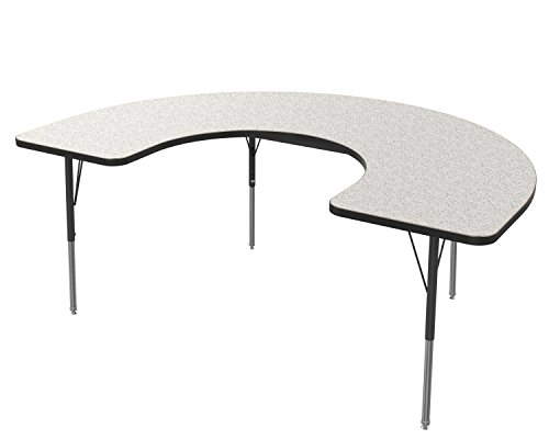 Horseshoe Table For Classroom - 2