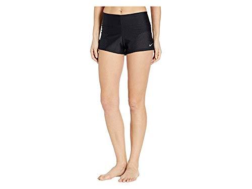 Nike Women's Sport Mesh Swim Boardshorts Black Large