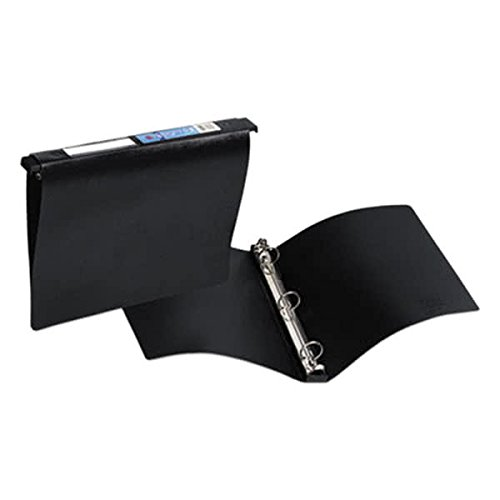 Black Hanging Storage Non-View Binder with 1