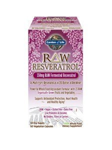 Garden of Life RAW Resveratrol, 60 vcaps (Pack of 3) by Garden of Life by Garden Of Life