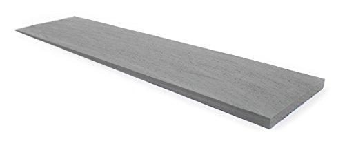 18 Inch Rebutted and Rejointed (R&R) Circular Sawn Cedar Sidewall Shingles Primed 1/2 Square Carton (Cedar Shingles Wood)