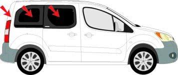 Amazon.es: Parasol Solarplexius Citroen Berlingo II – 2 puertas ...