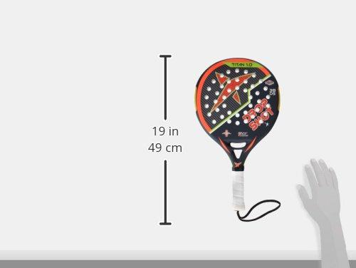 DROP SHOT Titan 1.0 - Pala de pádel, Color Negro/Naranja ...