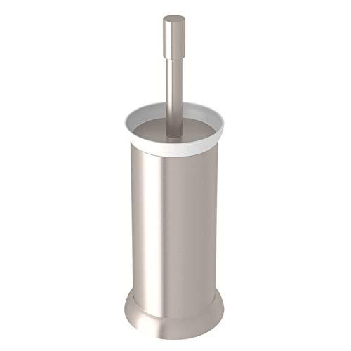 (Rohl U.6437STN Perrin & Rowe Transitional Floor Standing Toilet Brush Holder, Satin Nickel)