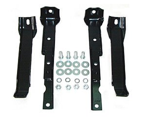 (Auto Metal Direct 970-4067-S Rear Bumper Bracket Set)
