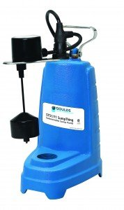 GOULDS PUMPS ST31AV Sump Pump with Vertical Float, Cast Iron, 1/3 hp, 115V