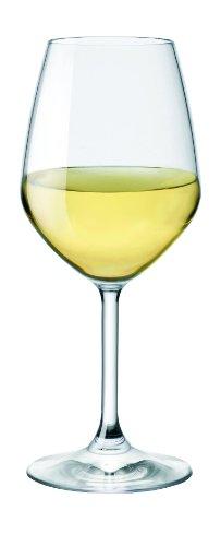 Bormioli Rocco Restaurant White Wine Glasses, Clear, Set ...