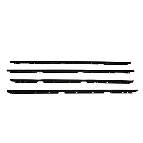 Window Sweeps Felts Weatherstrip Seals Kit Set of 4 for Camaro Firebird Trans Am ()