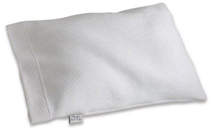 Bucky Travel Duo Bed Pillow White 14x11 inch