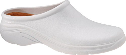 Womens Quarky, Slip-on Clog White