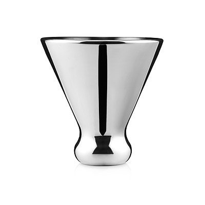 Ice Free Stainless Steel Martini Glass, Set of - Stainless Martini Steel Glass Steel