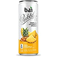 12-Pk. Bai Bubbles Peru Pineapple Drinks 11.5 Fluid Ounce Cans