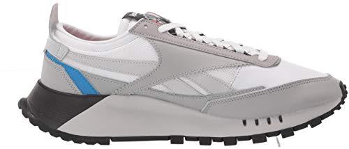 Reebok unisex-adult Classic Legacy Sneaker stark grey/white/instinct red 4 medium US