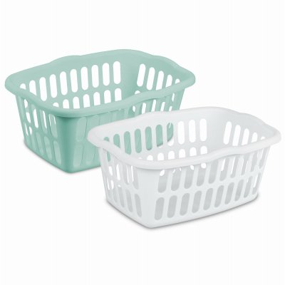 Rectangular Laundry Basket (Pack of 12) by STERILITE