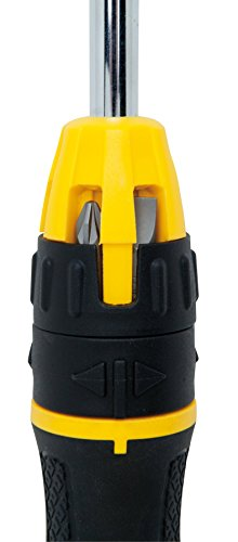 076174680102 - Stanley 68-010 Multibit Ratcheting Screwdriver with 10 Assorted Bits carousel main 5