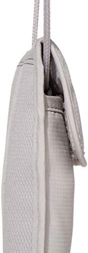 31xZMxeY8xL - Pacsafe Coversafe X75 Anti-Theft RFID Blocking Neck Pouch, Neutral Grey
