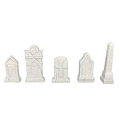 Pure Trident Tabletop Terrain Scenery for 25-30 mm Miniatures Wargaming - Premium Quality - 3D Printed and Paintable (Graveyard with Gazebo): Toys & Games