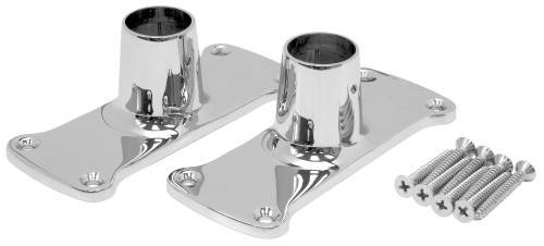 PROPLUS GIDDS-194225 Jumbo Shower Rod Flanges - (Jumbo Shower Rod Flanges)