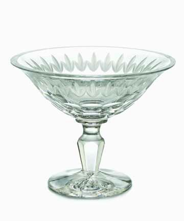 Waterford Crystal GRAFTON STREET MARLBOROUGH 8Ó FTD COMPOTE