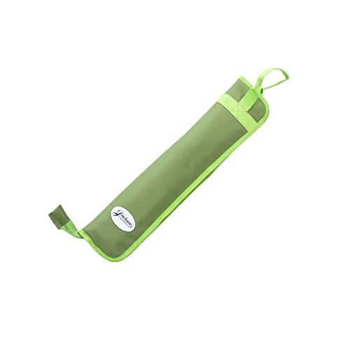 JC Drumsticks Bag Thicken Padded Standard Drum Stick/Mallet Single Shoulder Strap Bag Heavy Oxford Cloth ,Green