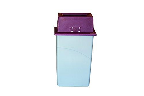 San Jamar KA1951 Katchall Rugged Flatware Retriever, 6-1/2'' Height x 20-1/4'' Width x 11-3/8'' Depth, Red, For Slim Jim Trash Container by San Jamar