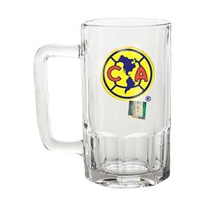 Club America Mexican Soccer Futbol team Official Glass Beer Mug 10oz/ 300ml …