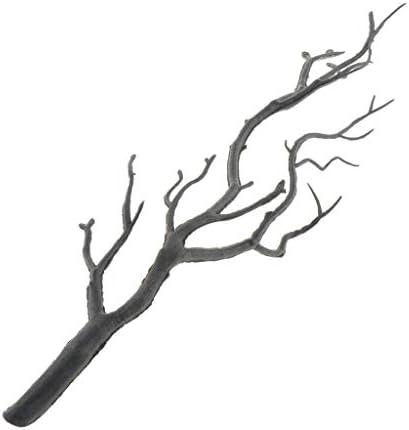 Hellery 木モデル 樹木 裸木の枝 ツリー模型 高さ32cm 秋の風景 箱庭 鉄道模型 建物模型 情景コレクション 3色 - グレー