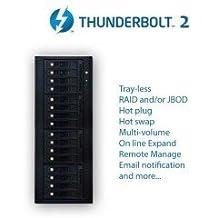 Sixteen Bay Thunderbolt 2 Hardware RAID5/6 Quiet Tower upgrade-able to Thunderbolt 3