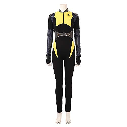 Joyfunny Women's Suit for Superhero DP Jumpsuit Halloween Cosplay Costume -