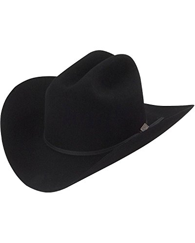 Larry Mahan Men's 5X Ridgetop Fur Felt Cowboy Hat Black 7 ()