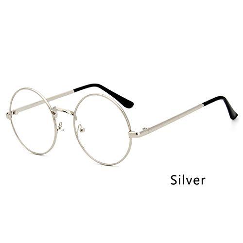 27f9b8e9e0 Korean Style Fashion Designer Metal Frame Girls Round Glasses Clear Lens  Nerd Geek Eyewear School Student