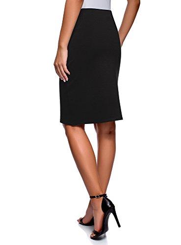 Droite Jupe Basique Collection Noir Femme 2900n oodji xtEgqTwZ