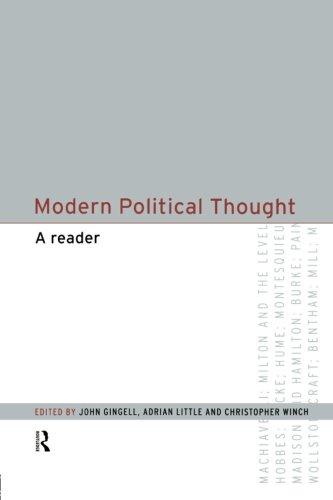 Modern Political Thought: A Reader
