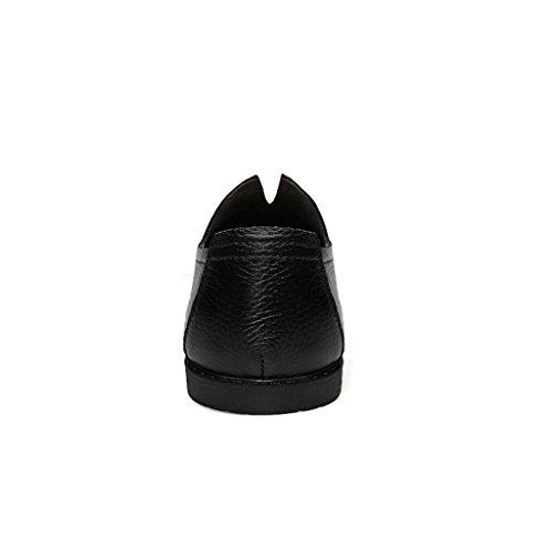 Scarpe da Banchetto Black Casual amp;M degli Scarpe Lavoro Pelle Scarpe M Uomini di d'Affari Maree Scarpe Scarpe da Scarpe g1qZPwxf