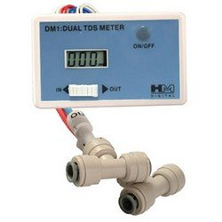 Dual Tds Meter (HM Digital DM-1 In-Line Dual TDS Monitor for In / Out Water Lines-- (Package ...)