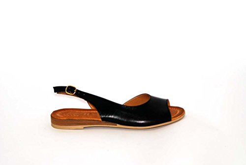Sandalen Sandaletten aus Leder Schuhe Damen RIPA shoes - 09-8010