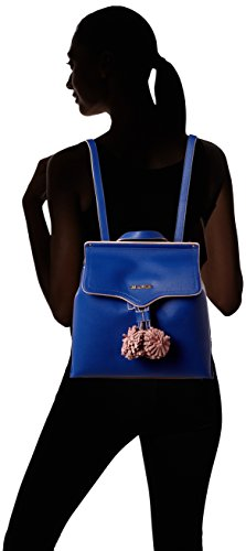 Pu Love cm Womens Borsa B Backpack Blue x H Moschino 15x30x32 Handbag T Grain Small Blu nHwrIFHq