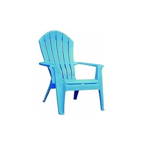 Adams 8371 - 21 - 3700 Resina Ergo Adirondack Silla, Azul ...
