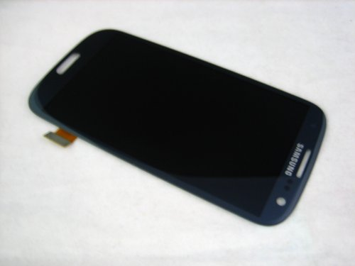 NovaMass For Samsung Galaxy S3 SIII GT-i9300 LCD Display+Touch Screen Digitizer Assembly Replacement Pebble Blue (Display Lcd S3 Samsung Galaxy)