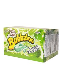 Bubbaloo Chewing Gum with Flavor Filled Center Yerbabuena Flavor (50 Pieces)