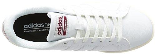 Bianco adidas da Uomo Advantage Ftwwht Scarpe Ginnastica Cloudfoam Cburgu Ftwwht YwrfYqU
