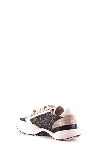 MCBI053065O Pelle Sneakers Cucinelli Bianco Brunello Nero Donna RUTFfTWO